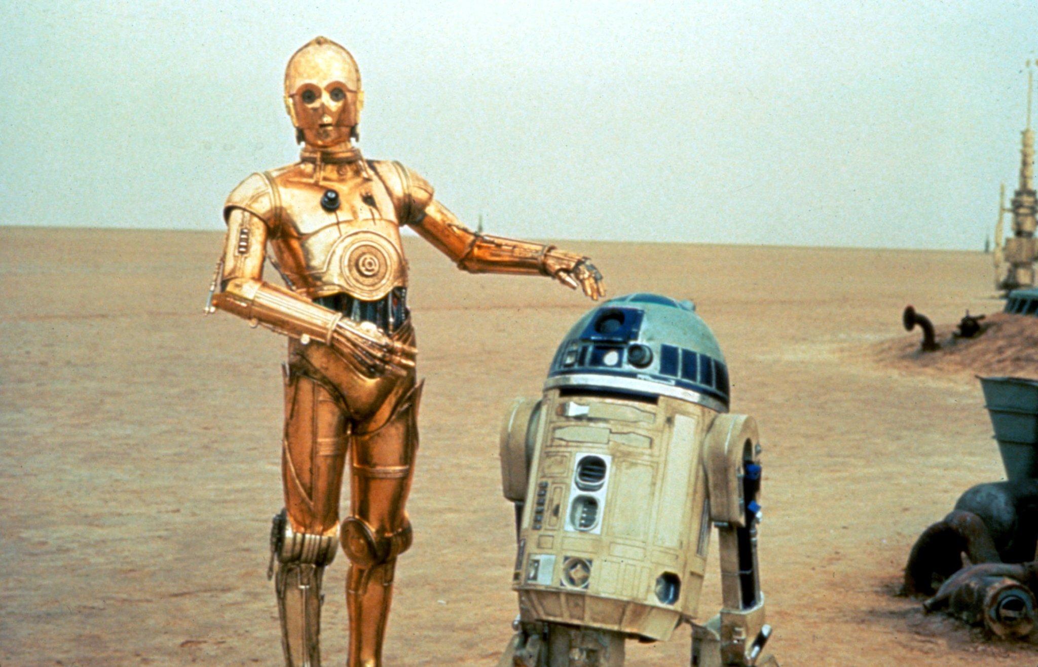 R2D2 - C3PO