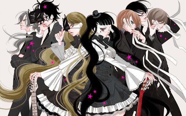 masked noise illustration manga