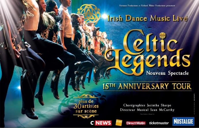 Celtic Legends en tournée en 2017 avec un nouveau show