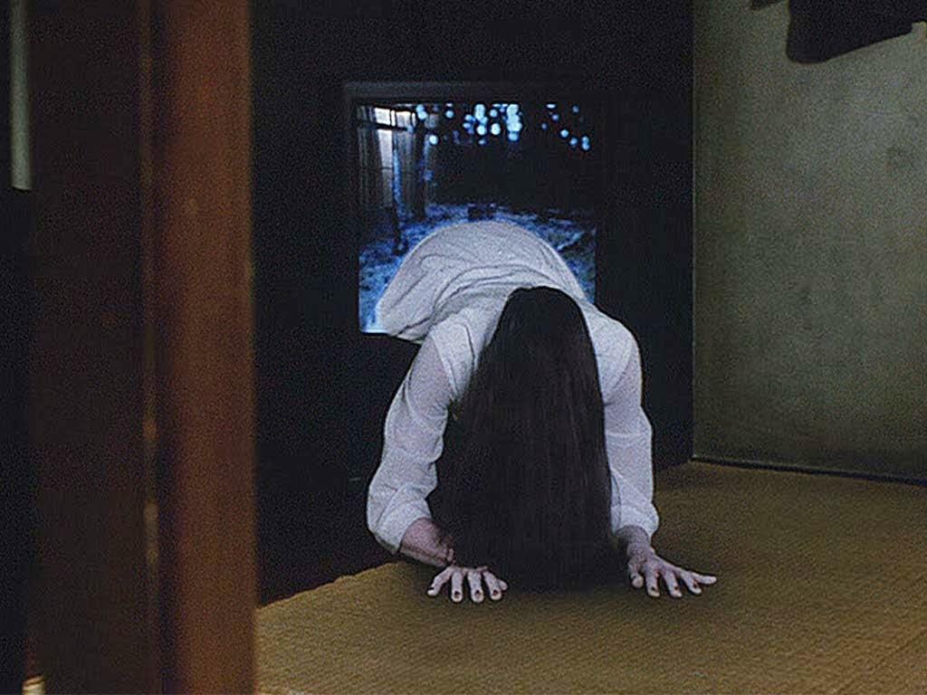 Sadako emerging