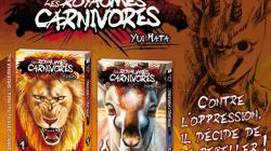 Les fauves sont lâchés chez Akata avec 「 Les Royaumes Carnivores 」 !