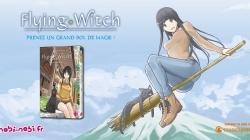 Le manga「 Flying Witch 」rejoindra le catalogue de Nobi-Nobi !