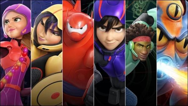 Les Nouveaux Héros : après le film, la série animée !