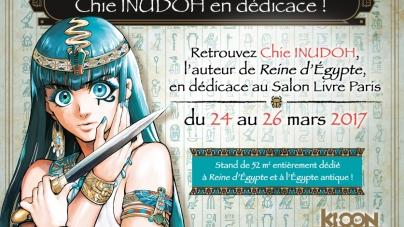 Chie Inudoh (Reine d'Egypte) de passage en France en mars : planning dévoilé !