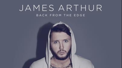 James Arthur : nouvel album «Back From The Edge» maintenant disponible en version physique !