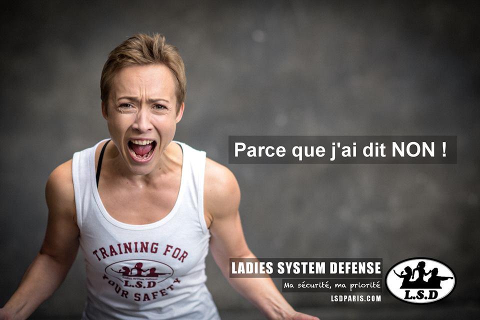 ladies system défense Self Défense pour femmes