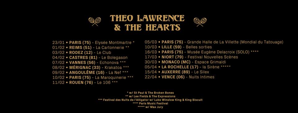 tour date
