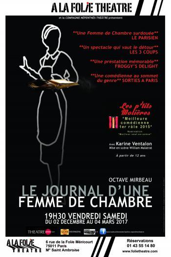 Journal d'une femme de chambre affiche