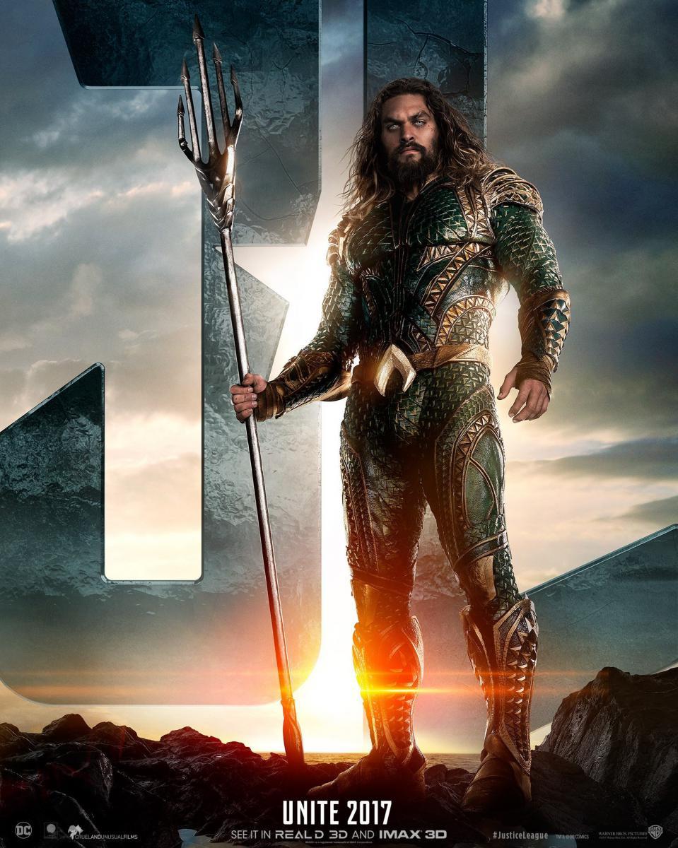 Justice League - Poster Aquaman