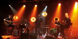 Klone en concert acoustique pour Unplugged à l'Antenne