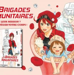 Les brigades immunitaires : le manga qui vous emmène à la rencontre du corps humain !