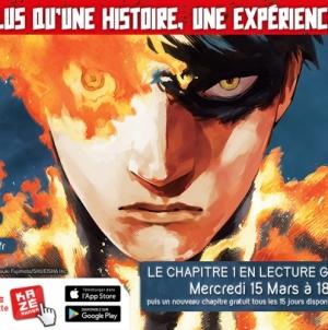 Fire Punch:  Embrase Kazé Manga par des chapitres réguliers !