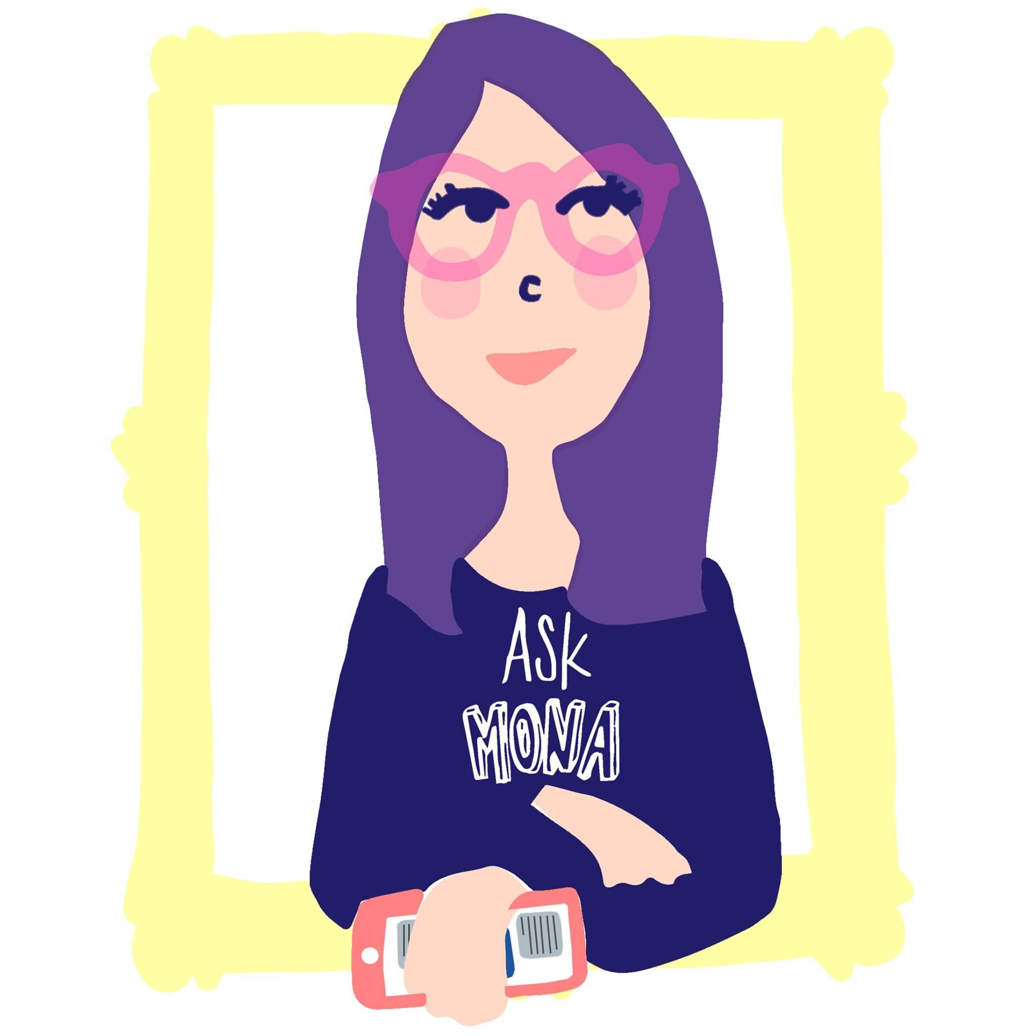 logo ask mona