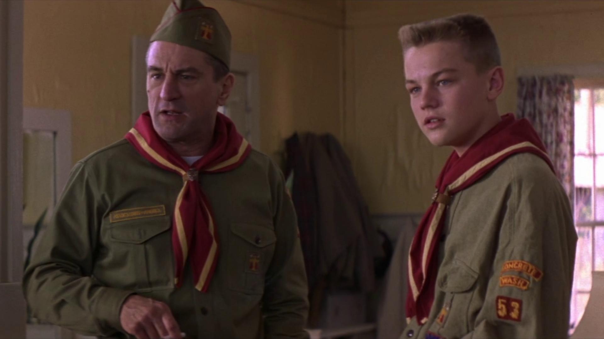 """Souvenir, souvenir, de Niro et DiCaprio ensemble dans """"Blessures Secrètes"""" en 1993"""