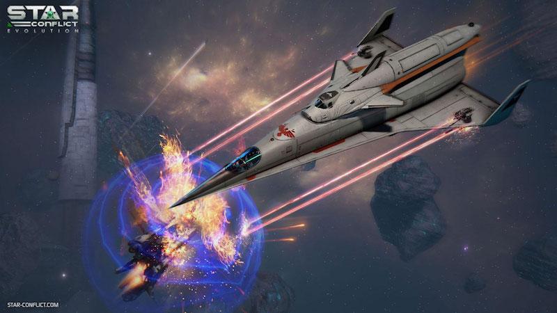 Star conflict vaisseau