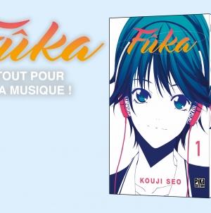 Fûka : le nouveau shonen romantique de Kouji Seo chez Pika !
