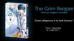 Le manga The grim reaper s'installe pour Japan Expo chez Kana !