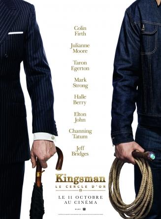 Kingsman – Le cercle d'or: un teaser en attendant le trailer.