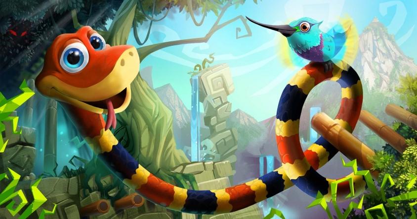 Snake Pass, un jeu de plateforme coloré et original (Test PC)