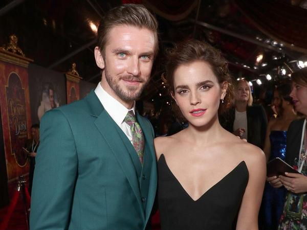 Dan Stevens (La Bête) et Emma Watson (Belle)