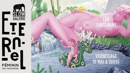 Exposition ETERNEL FEMININ, parole à Léa Chassagne