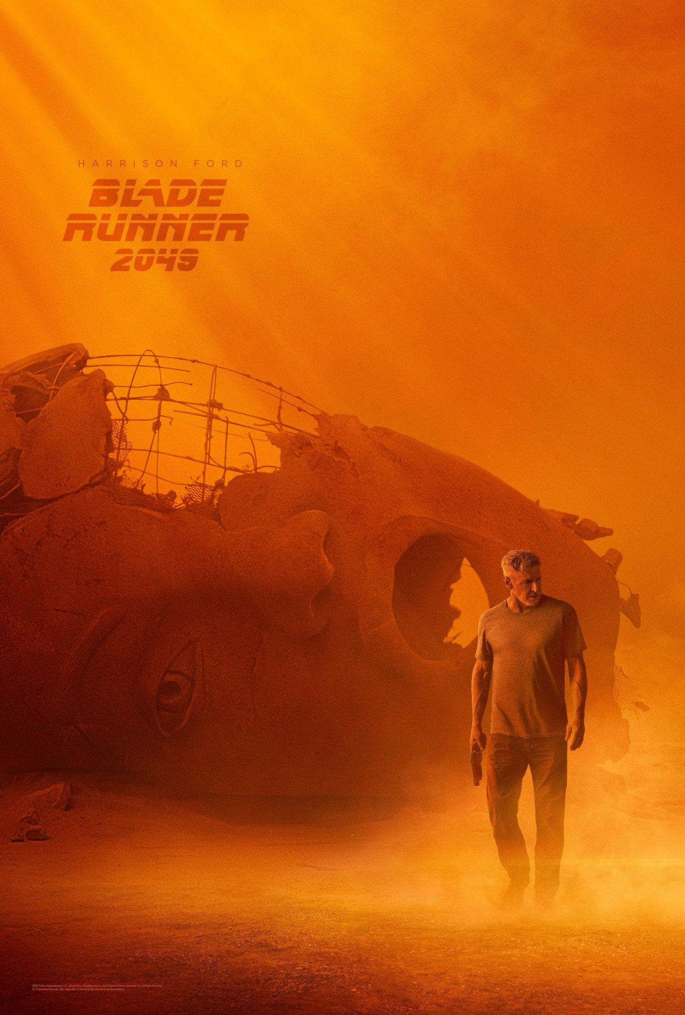 BladeRunner 2049 Harrison Ford