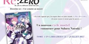 Le deuxième arc du manga Re : Zero se précise chez Ototo Manga !