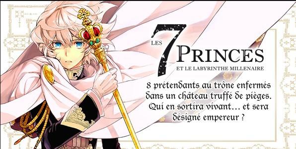 """Résultat de recherche d'images pour """"Les 7 princes, et le labyrinthe millénaire"""""""