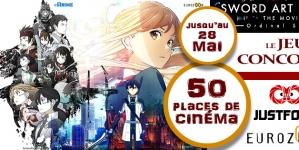Concours Sword Art Online : 50 places de cinéma à gagner !