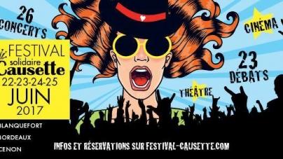 Causette lance son Festival du 22 au 25 juin à Bordeaux