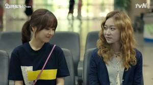 Rencontre entre Na Bong Seon et Sun Ae.