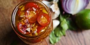 Recette de tomates cerises marinées
