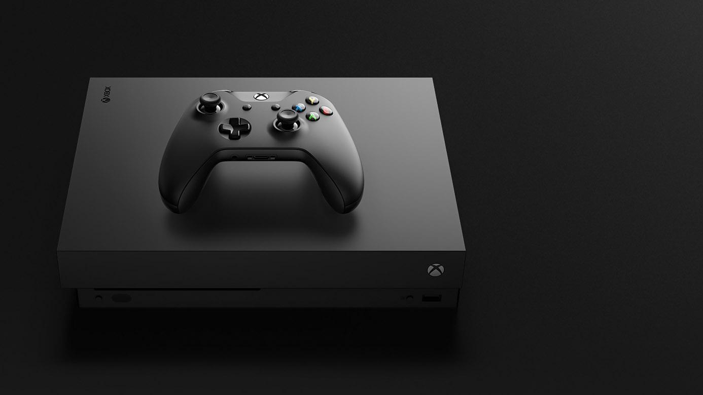 Xbox One X photo