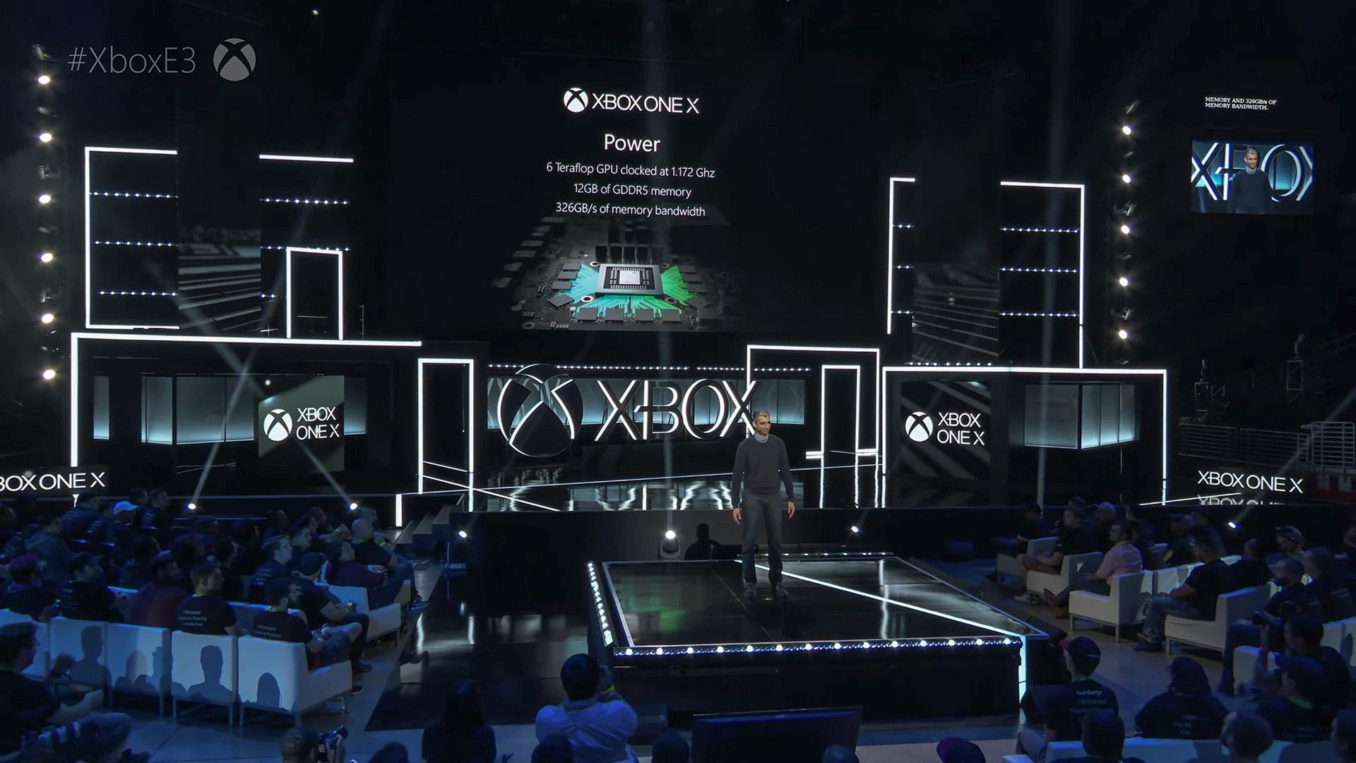 Xbox One X présentation