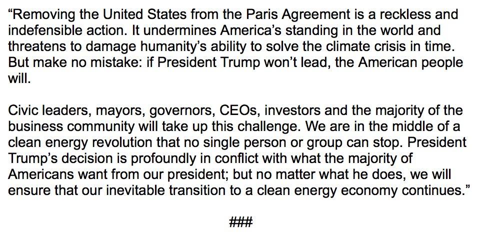 La déclaration d'Al Gore suite à la décision révoltante de Donald Trump