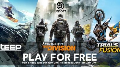 Le fêtard Ubisoft célèbre l'E3 par un weekend de jeux PC gratuits sur Uplay