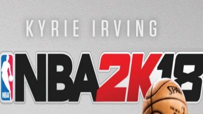 NBA 2K18 : Kyrie Irving, champion de la jaquette !