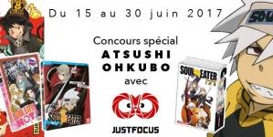 Jeu concours Atsushi Ohkubo : Soul Eater et Fire Force à l'honneur !