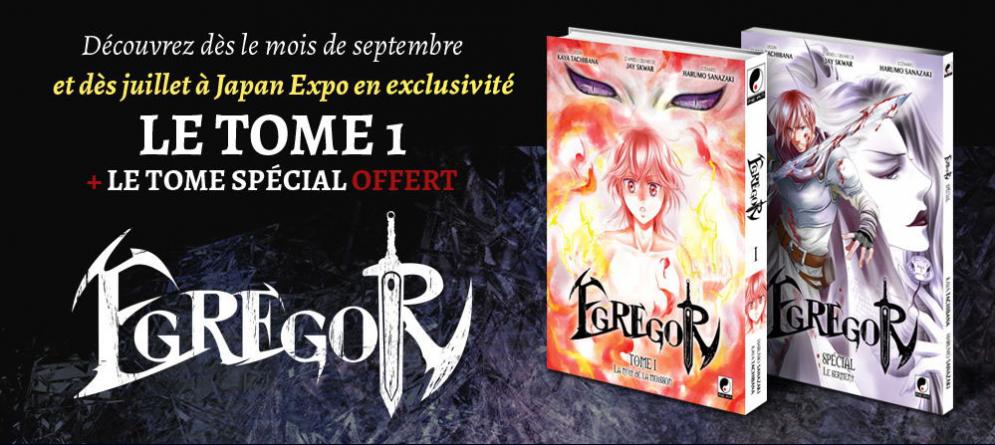 #JapanExpo : Lancement des éditions Meian avec le manga Egregor !