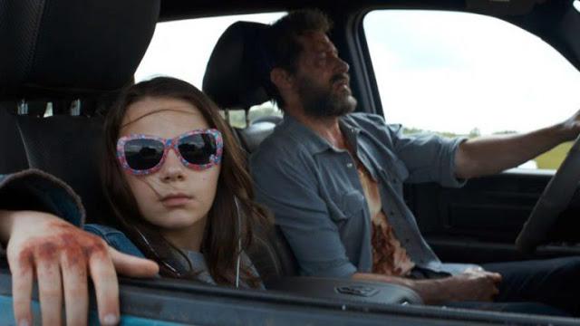 X-23 et Wolverine dans le film Logan