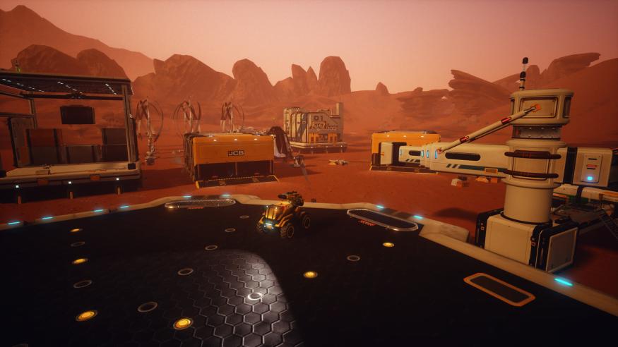 JCB Pioneer Mars 07