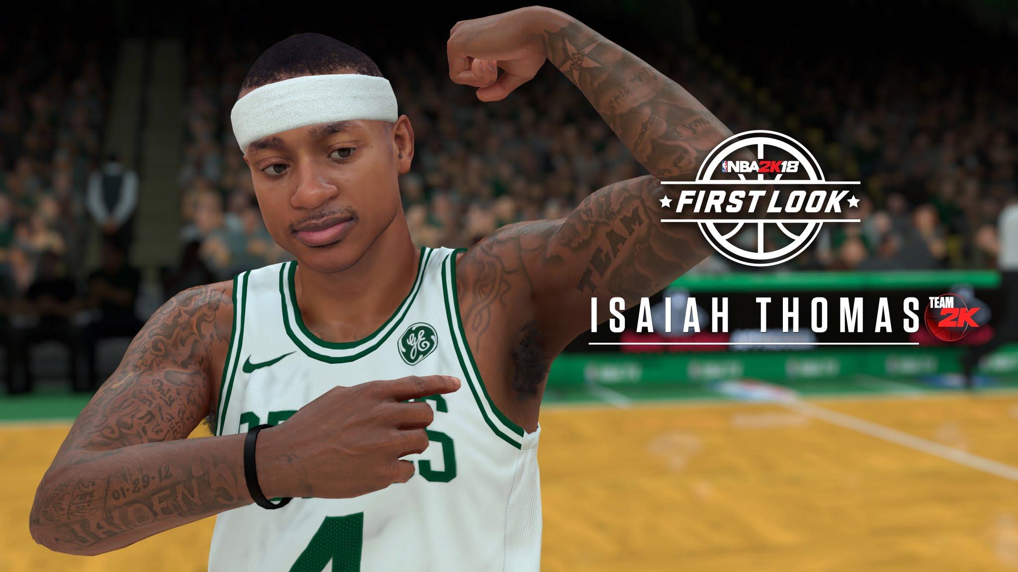 NBA2K18 Isaiah Thomas