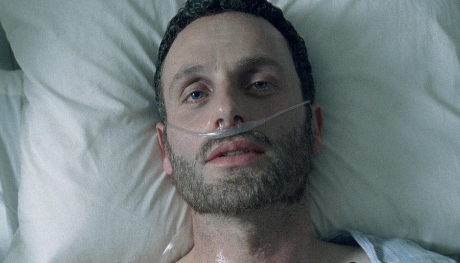 Rick dans la première saison de The Walking Dead