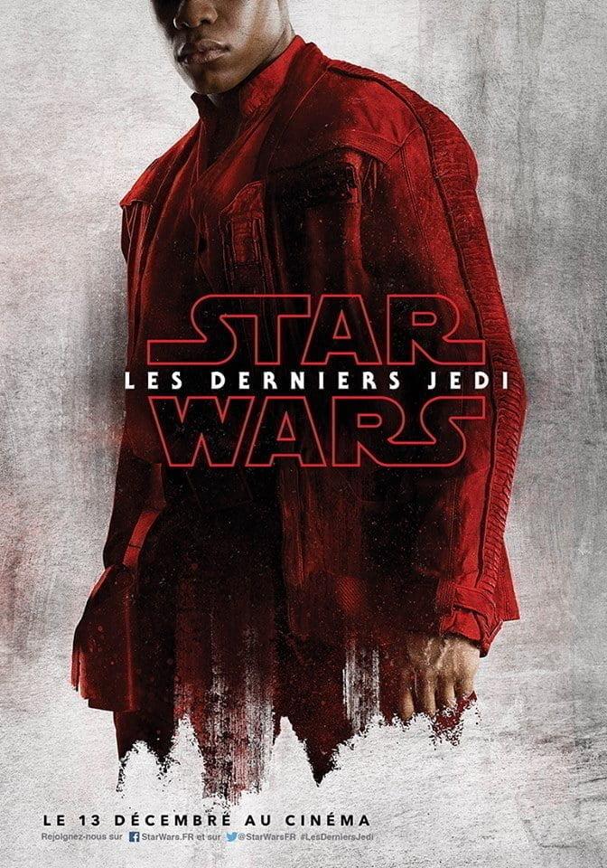 Star Wars 8 - Affiche Finn