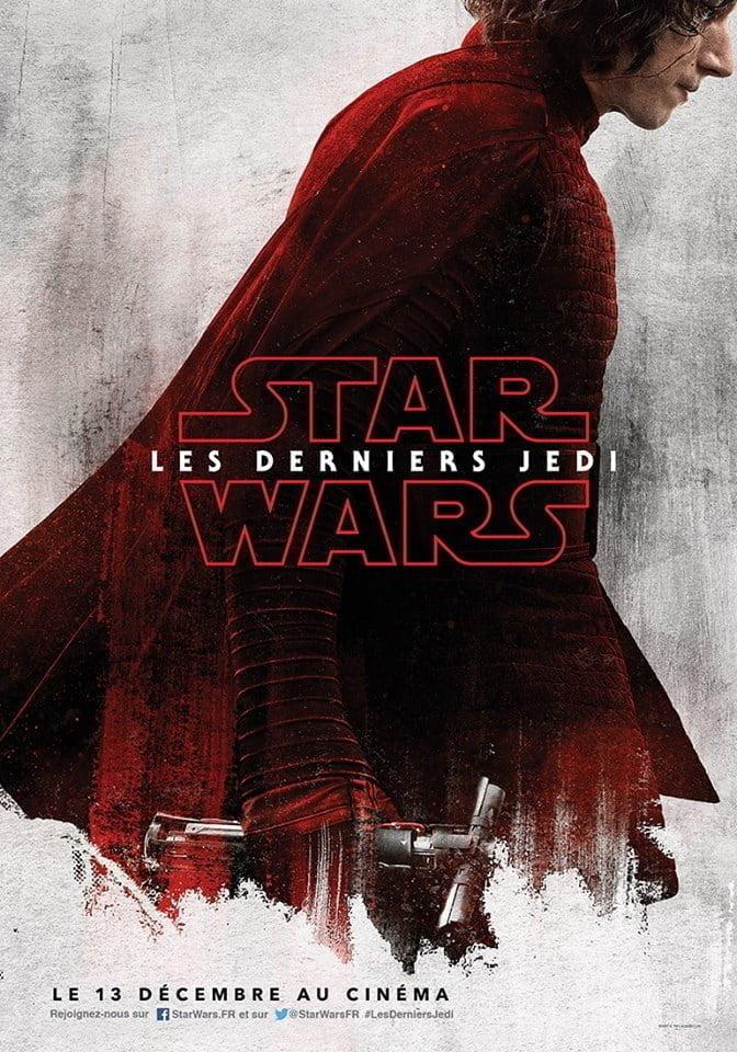 Star Wars 8 - Affiche Kylo