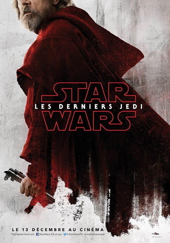 Star Wars 8 - Affiche Luke