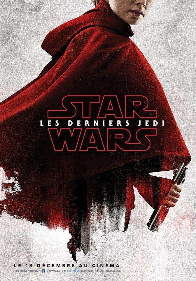 Star Wars 8 - Affiche Rey