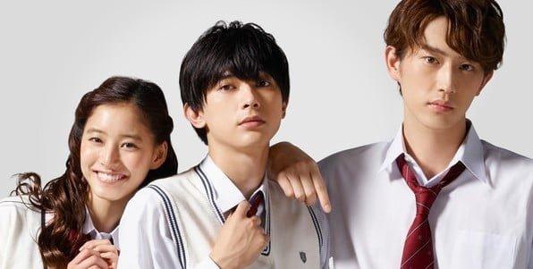 Ménage à trois (Anoko no Toriko) : un film LIVE pour 2018 !
