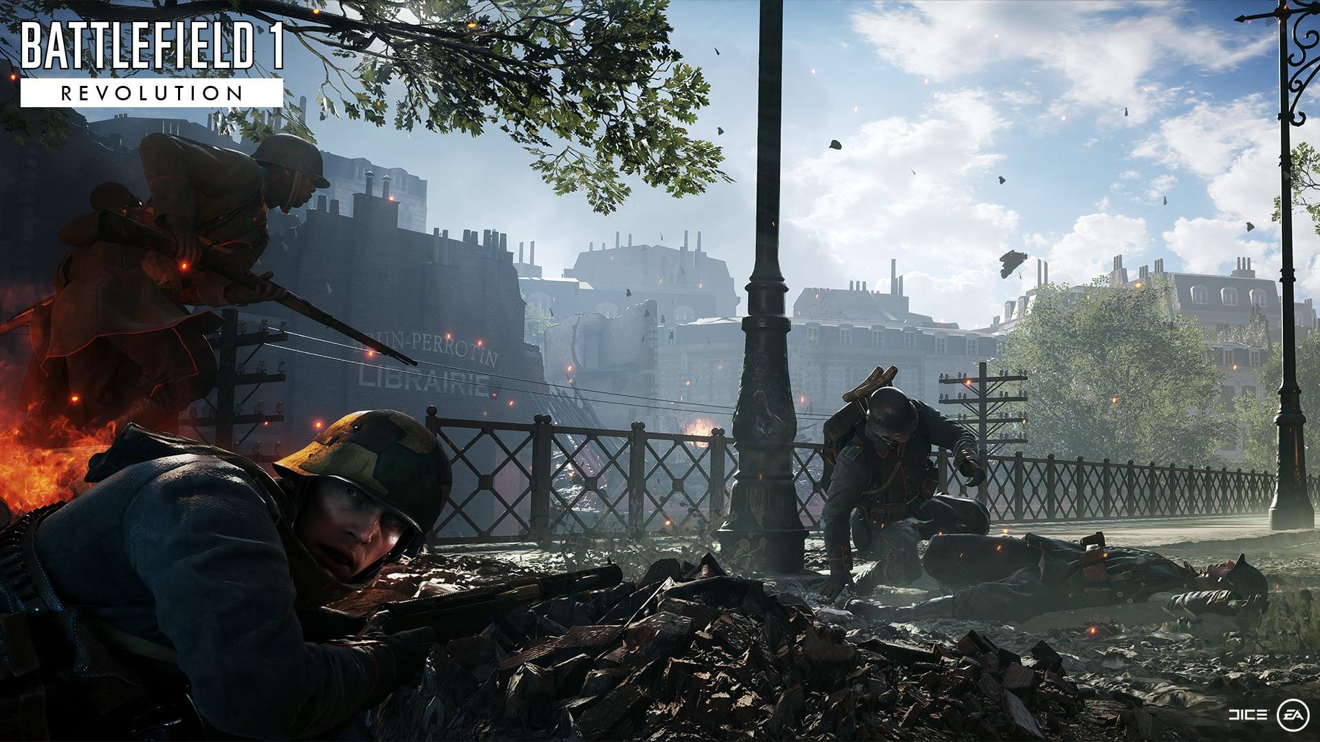 Battlefield 1 dévoile son mode compétitif : Incursions