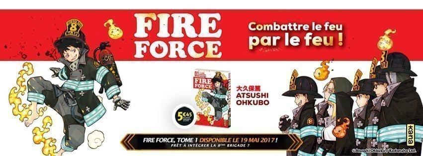 Notre avis sur Fire Force : Combattre le feu par le feu !